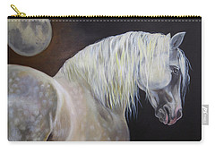 Carry-all Pouch featuring the painting Moonshadow by Phyllis Beiser