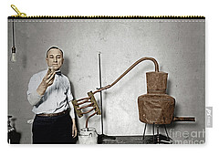 Carry-all Pouch featuring the photograph Moonshine Distillery by Granger