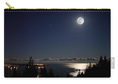 Moonshine Over English Bay Carry-all Pouch