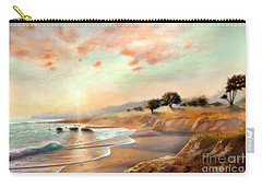 Moonstone Beach California Carry-all Pouch