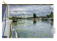 Moored At The Marina Carry-all Pouch