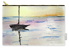 Moored Sailboat Carry-all Pouch