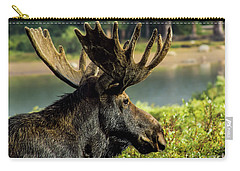Moose Adventure Carry-all Pouch by Steven Parker