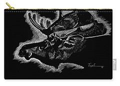 Moose Carry-all Pouch by Lawrence Tripoli