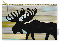 Moose Carry-all Pouch by Paula Brown