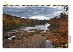 Moose River Autumn Carry-all Pouch by Diane E Berry
