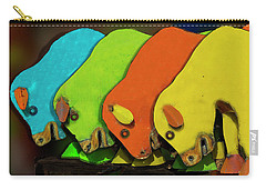 Carry-all Pouch featuring the photograph Mooving On by Paul Wear