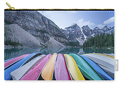 Moraine Lake Colors Carry-all Pouch by Alpha Wanderlust