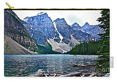 Moraine Lake In Color Carry-all Pouch