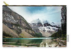 Moraine Lake In The Rain Carry-all Pouch