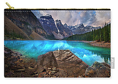 Moraine Lake Carry-all Pouch by John Poon