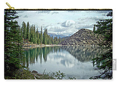 Moraine Lake Canadian Rockies Carry-all Pouch by Lynn Bolt