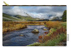 Moraine Park Morning - Rocky Mountain National Park, Colorado Carry-all Pouch