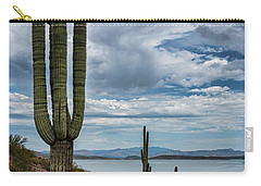 Carry-all Pouch featuring the photograph More Beauty Of The Southwest  by Saija Lehtonen