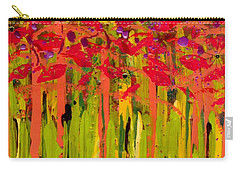More Flowers In The Field Carry-all Pouch