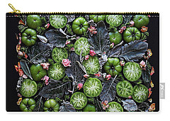 More Green Tomato Art Carry-all Pouch