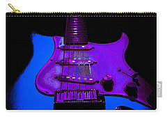 Carry-all Pouch featuring the photograph More Guitar Less Homework by Guitar Wacky