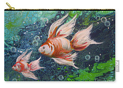 More Little Fishies Carry-all Pouch