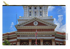 Carry-all Pouch featuring the photograph Morgan County Court House by Doug Camara