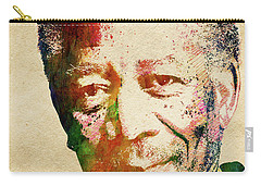 Morgan Freeman Carry-all Pouch by Mihaela Pater