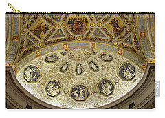 Carry-all Pouch featuring the photograph Morgan Library Rotunda by Jessica Jenney
