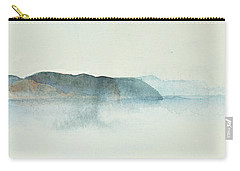 Morgondis Over Kusten - Morning Haze Over The Swedish Westcoast, Hunnebo_1211 Up To 70 X 70 Cm Carry-all Pouch