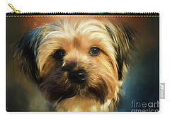 Morkie Portrait Carry-all Pouch