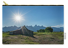 Mormon Row Carry-all Pouch by Alpha Wanderlust