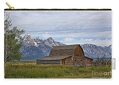 Mormon Row Barn And Grand Tetons Carry-all Pouch