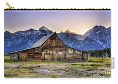 Mormon Row Sunset Carry-all Pouch