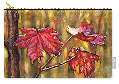 Morning After Autumn Rain Carry-all Pouch