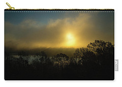 Carry-all Pouch featuring the photograph Morning Arrives by Karol Livote