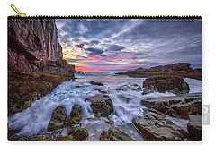 Morning At Bald Head Cliff Carry-all Pouch by Rick Berk