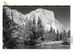 Carry-all Pouch featuring the photograph Morning At El Capitan by Sandra Bronstein