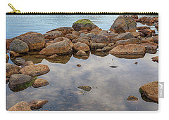 Morning At Jordan Pond Carry-all Pouch by Rick Berk