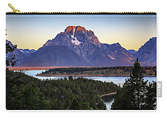 Morning At Mt. Moran Carry-all Pouch