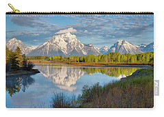Morning At Oxbow Bend Carry-all Pouch