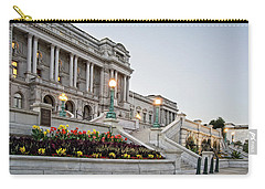 Morning At The Library Of Congress Carry-all Pouch by Greg Mimbs