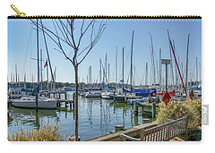 Morning At The Marina Carry-all Pouch