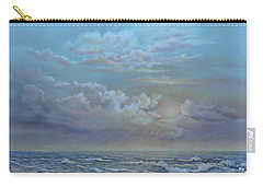 Morning At The Ocean Carry-all Pouch by Luczay