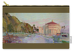 Morning Avalon Harbor - Catalina Island Carry-all Pouch