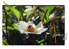 Morning Bee Carry-all Pouch by Helga Novelli