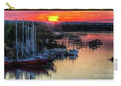Carry-all Pouch featuring the photograph Morning Bliss by Maddalena McDonald