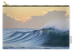 Carry-all Pouch featuring the photograph Morning Breaks by Az Jackson