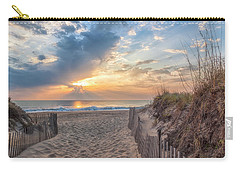 Morning Breaks Carry-all Pouch by David Cote