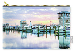 Carry-all Pouch featuring the photograph Morning Calm by Maddalena McDonald