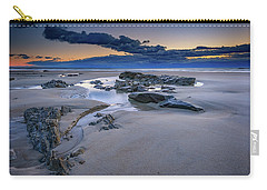 Carry-all Pouch featuring the photograph Morning Calm On Wells Beach by Rick Berk