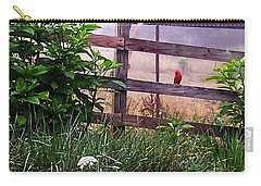 Morning Cardinal Carry-all Pouch