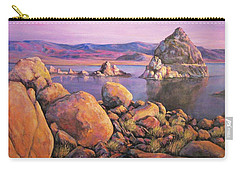 Morning Colors At Lake Pyramid Carry-all Pouch