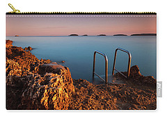 Carry-all Pouch featuring the photograph Morning Colors by Davor Zerjav
